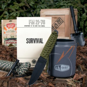 Man Crates Outdoor Survival Crate