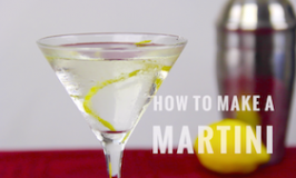How to make a martini