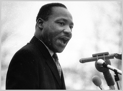 MLK public speaking