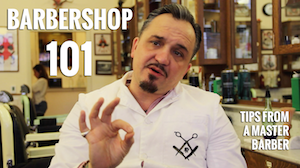 Barbershop tips from Shorty Maniace Master Barber