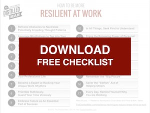 Resilience Checklist free download