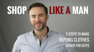 how to shop for mens clothes