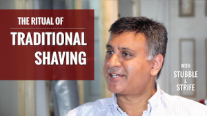 The Ritual of Traditional Shaving With Stubble and Strife (Video)