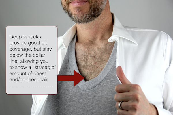 men's v-neck undershirt advantages