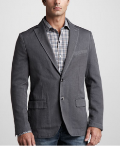 unstructured sport coat