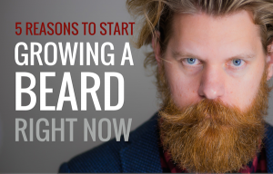 Growing a beard Eric Bandholz