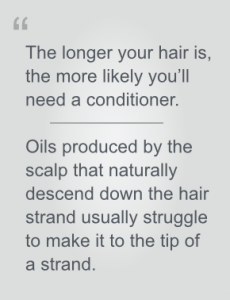 When to use conditioner