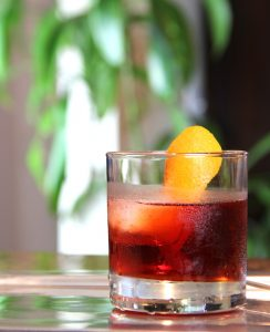 negroni cocktail for guy's night