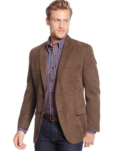 man wearing casual sport coat and jeans