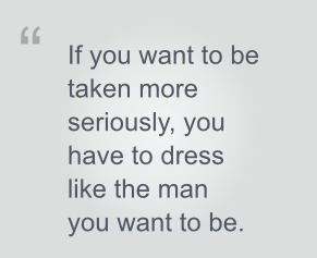 dress like the man you want to be pullquote