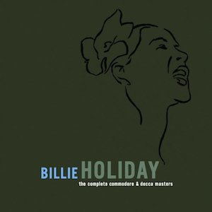 The Complete Commodore & Decca Masters Billie Holiday album cover