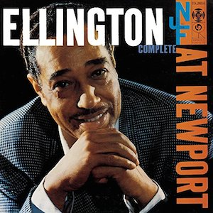 Classic Jazz album Ellington at Newport Album Cover