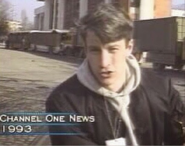 Anderson Cooper live new reporting in 1993