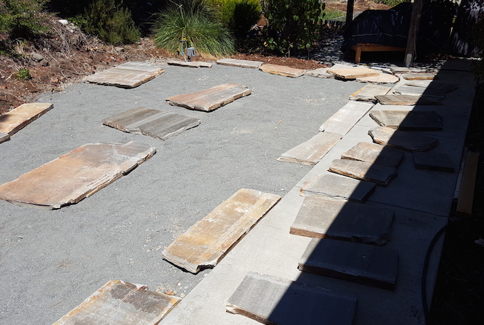 flagstone-patio-progress
