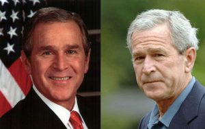 President-Bush-before-and-after-presidency