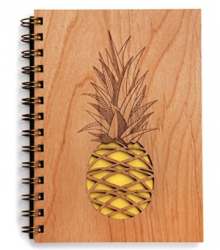 pineapple-lasercut-notebook