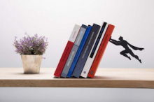 superhero-bookend