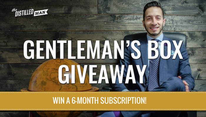 Gentlemans Box Giveaway: Win a 6 month subscription