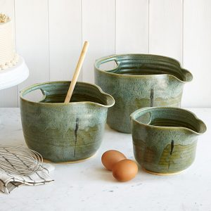 customer stoneware mixing bowl set, for mothers day gift