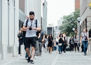 walking tour in your own city