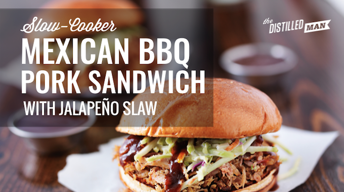 Mexican BBQ Pork Sandwich Recipe