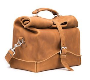 Leather Overnight Bag