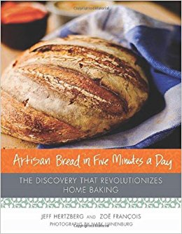 Artisan Bread in Five Minutes a Day, beginner bread baking
