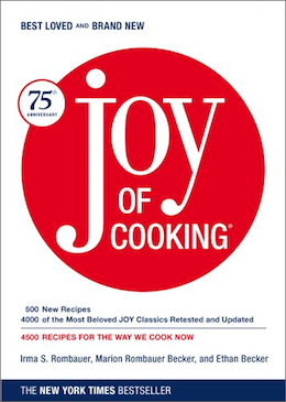 joy of cooking cookbook for beginners and seasoned home chefs