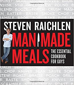 Man Made Meals, an essential cookbook for men
