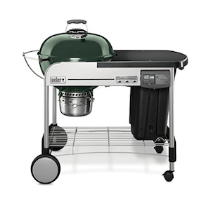 Weber Performer propane and charcoal grill