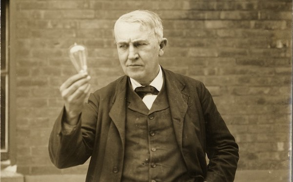 Thomas Edison and 1000 failures