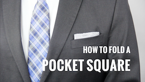 How to Fold a Pocket Square 7 Ways 300
